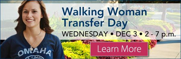 Walking Woman Transfer Day